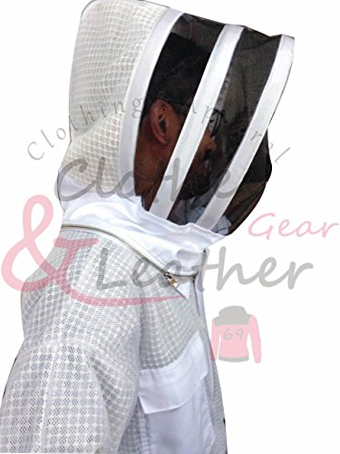 Massivebee-Beekeeping-Ultra-Ventilated-Suit-with-domo-fencing-veil-bee-suit-0-2