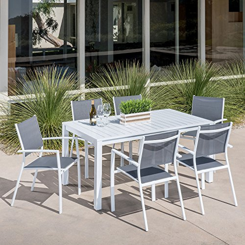 Md-Furniture-HARPDNS7PC-WHT-Harper-7-Piece-Outdoor-Set-with-6-Sling-Chairs-and-a-78-x-40-Dining-Table-Furniture-White-0-0