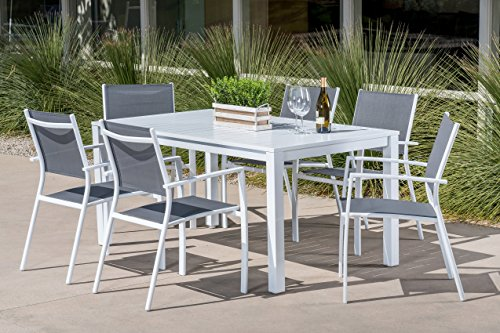 Md-Furniture-HARPDNS7PC-WHT-Harper-7-Piece-Outdoor-Set-with-6-Sling-Chairs-and-a-78-x-40-Dining-Table-Furniture-White-0