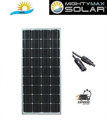 Mighty-Max-Battery-100-Watts-100W-Solar-Panel-12V-Mono-Off-Grid-Battery-Charger-RV-Brand-Product-0