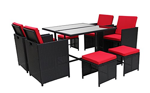 Modern-8-Piece-Space-Saving-Outdoor-Furniture-Dining-Set-Patio-Rattan-Table-and-Chairs-Set-0