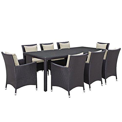 Modway-Convene-Wicker-9-Piece-Rectangular-Patio-Dining-Set-0