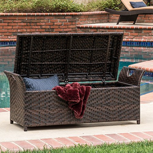 Multi-tone-Brown-Wicker-Fully-Assembled-Outdoor-Backless-Storage-Patio-Bench-Ottoman-0-1