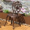 O07-Yongcun-Outdoor-Patio-Furniture-Cast-Aluminum-Dining-Set-Patio-Dining-Table-Chair-Color-is-Antique-Bronze-0-0