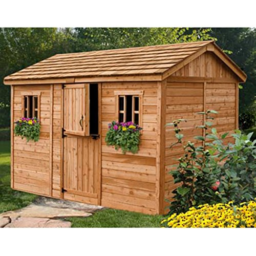 Outdoor-Living-Today-CB128-Cabana-12-x-8-ft-Garden-Shed-0-0