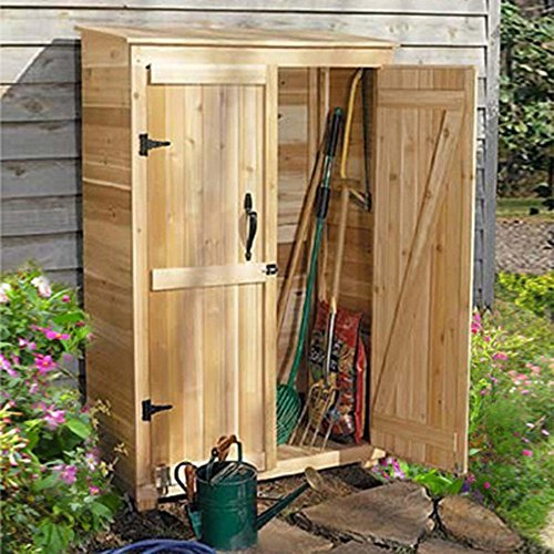 Outdoor-Living-Today-GC42-Garden-Chalet-4-x-2-ft-Tool-Shed-0