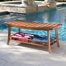 Outdoor-Patio-Bench-GardenWoodStorage-Shelf-Natural-0