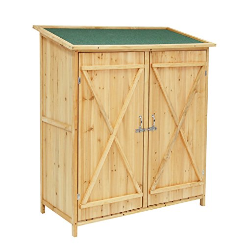 Outdoor-Wooden-Garden-Shed-Medium-Storage-Shed-Lockable-Storage-Unit-with-Double-Doors-0