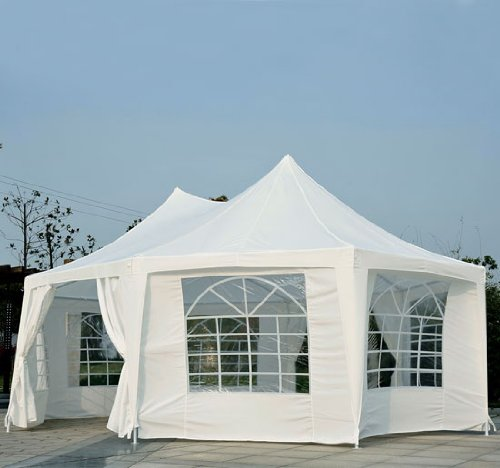 Outsunny-22-x-16-Large-Octagon-8-Wall-Party-Canopy-Gazebo-Tent-White-0-0