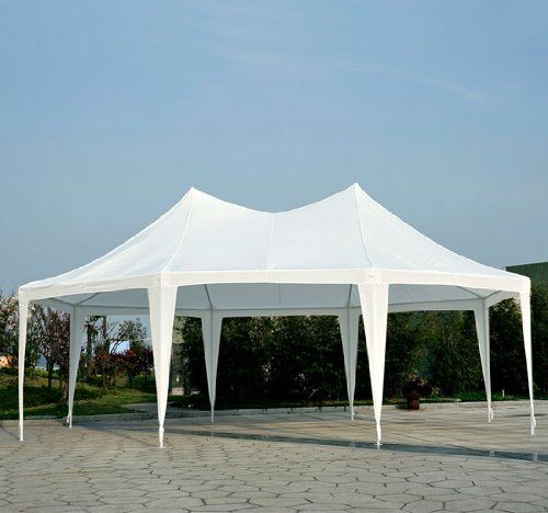 Outsunny-22-x-16-Large-Octagon-8-Wall-Party-Canopy-Gazebo-Tent-White-0-2