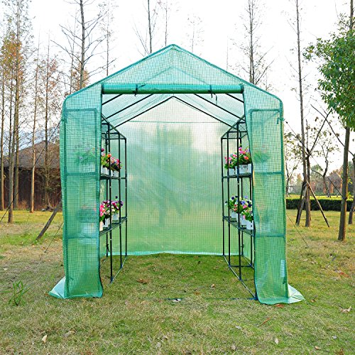 Outsunny-8-x-6-x-7-Outdoor-Portable-Walk-in-Greenhouse-0-1