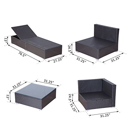 Outsunny-9-Piece-Outdoor-Patio-Rattan-Wicker-Sofa-Sectional-Chaise-Lounge-Furniture-Set-0-2