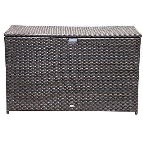 PATIOROMA-Outdoor-Storage-Box-Patio-Aluminum-Frame-Wicker-Cushion-Storage-Bin-Deck-Box-Espresso-Brown-0-1