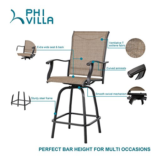 PHI-VILLA-3-PC-Swivel-Bar-Stools-Set-Bar-Height-Bistro-Sets-0-0