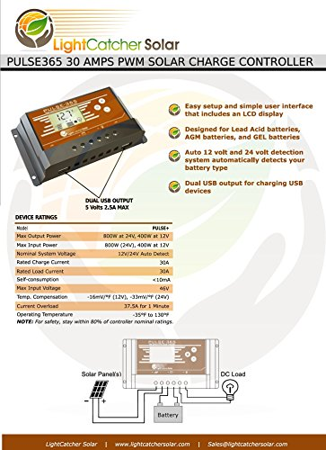 PULSE365-Solar-Charge-Controller-12-Volt-24-Volt-Battery-Charger-PWM-30Amps-800Watts-Max-0-0