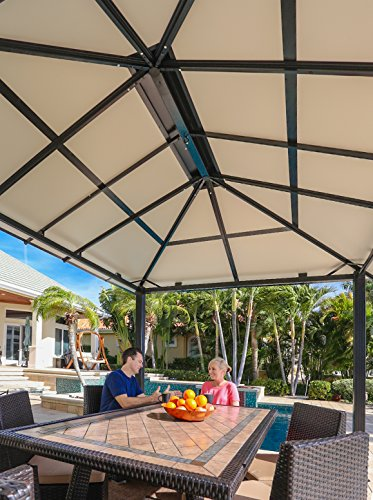 Paragon-Outdoor-GZ3584-Backyard-Structure-Hardtop-Durham-Gazebo-10-x-13-Black-0-0