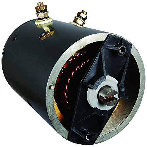 Parts-Player-New-Fisher-Western-Snow-Plow-Motor-Horizontal-Mounting-46-4175-4-Field-Coils-0