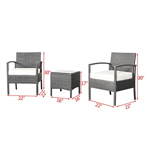 Patio-Chairs-Swings-Benches-NEW-Rattan-Wicker-Furniture-Set-3PC-Cushioned-Outdoor-Garden-Seat-Patio-Sofa-Chair-0-0