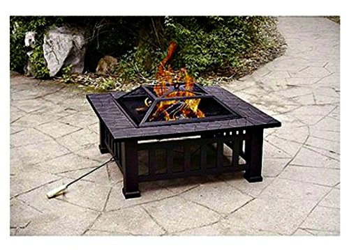 Patio-Fire-Pit-with-Cover-32-Inch-Backyard-Fireplace-Makes-a-Great-Outdoor-Heater-for-Your-Deck-or-Patio-Furniture-0