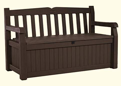 Patio-Storage-Bench-Waterproof-70-Gal-All-Weather-Outdoor-Patio-Storage-Bench-Deck-Box-Brown-Free-EBook-by-Stock4All-0-0
