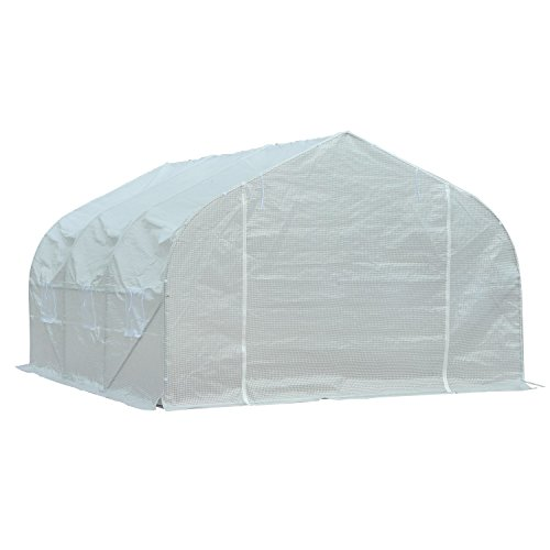 Portable-Greenhouse-11-x-10-x-7-Walk-In-Flowers-Plant-Outdoor-Garden-White-With-Ebook-0-1