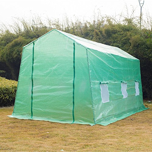 Portable-Greenhouse-15-x-7-x-7-Walk-In-Flowers-Plant-Outdoor-Garden-Green-With-Ebook-0-1