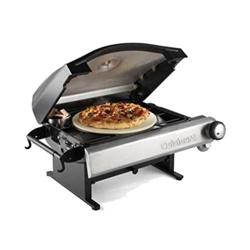 Portable-Outdoor-Propane-Pizza-Oven-Maker-Hot-Crisp-Freshly-Created-Brick-Oven-Style-Pizza-In-As-Little-As-5-Minutes-Solid-Steel-Pizza-Grill-13-Pizza-Stone-15000-BTU-Oven-Parties-Friends-Lets-Eat-0-0