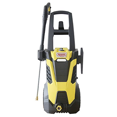 Realm-BY02-BCMH-Electric-Pressure-Washer-2300-PSI-175-GPM-145-Amp-with-Spray-Gun5-Spray-TipsBuilt-in-Soap-DispenserYellow-Black-0