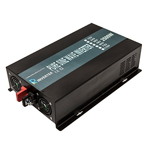Reliable-2500W-High-Frequency-LED-Display-24V-120V-Off-Grid-DC-to-AC-Power-Converter-True-Pure-Sine-Wave-Solar-Power-InverterBlack-0-1