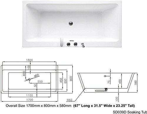 SDI-Deals-67-Soaking-Freestanding-Pedestal-Bathtub-White-Acrylic-Indoor-Tub-White-0-2