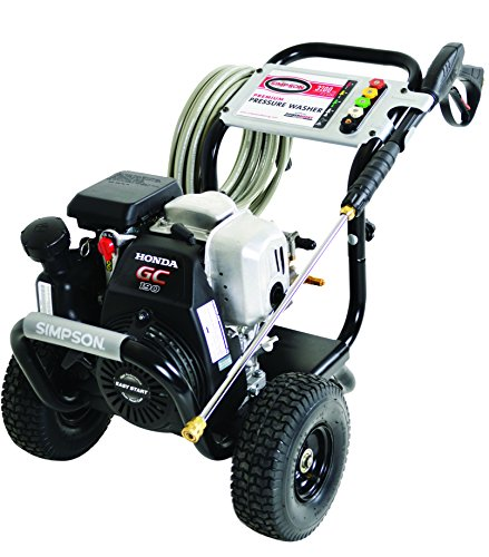 SIMPSON-MSH3125-S-MegaShot-3200-PSI-25-GPM-Honda-GC190-Engine-Gas-Pressure-Washer-0