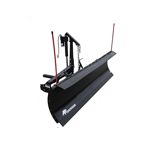SNOWBEAR-Pro-Shovel-88-in-x-26-in-Snow-Plow-for-2-in-Front-Mounted-Receiver-with-Actuator-Lift-System-0