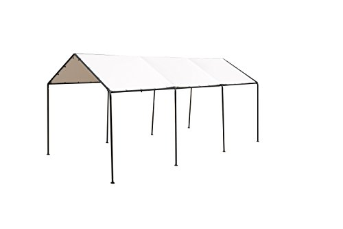 SORARA-Carport-10-x-20-Outdoor-Car-Canopy-Gazebo-8-Steel-Legs-White-0-2