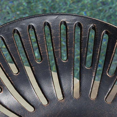 Set-of-2-Morelo-Cast-Aluminum-Swivel-Barstool-0-1