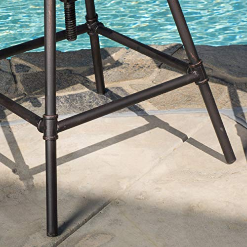 Set-of-2-Varick-Outdoor-Adjustable-Pipe-Barstool-with-Cushions-0-2