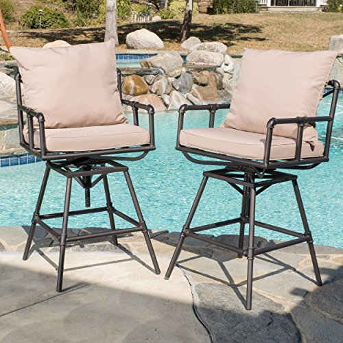 Set-of-2-Varick-Outdoor-Adjustable-Pipe-Barstool-with-Cushions-0