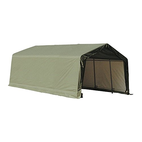 ShelterLogic-72444-Green-12x24x8-Peak-Style-Shelter-0