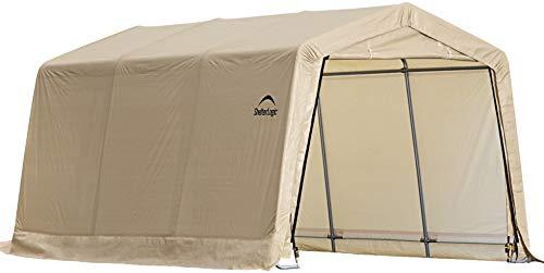 ShelterLogic-Peak-Style-AutoShelter-Sandstone-10-x-20-x-8-ft-0