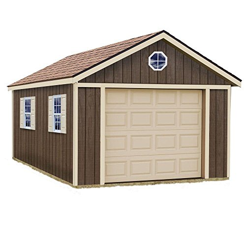 Sierra-12-ft-x-16-ft-Wood-Garage-Kit-without-Floor-0