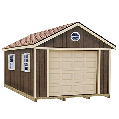 Sierra-12-ft-x-24-ft-Wood-Garage-Kit-with-Sturdy-Built-Floor-0