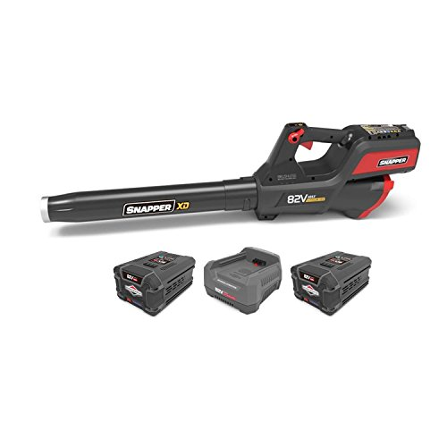 Snapper-XD-82V-Leaf-Blower-w-2-Ah-Lithium-Ion-Batteries-Pair-Charger-0
