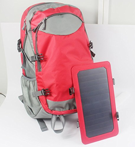 Solar-Backpack-with-Built-in-Solar-Charging-Panel65-Watt-with-5000mAh-Battery-Inside-0-0