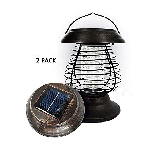 Solar-Mosquito-Killer-Insecticidal-Lamp-Flying-Insect-Killer-Outdoor-Light-2-Pack-Plastic-Mesh-Waterproof-LED-Stick-Insert-Lamp-for-Path-Landscape-Garden-Grass-Street-Patio-Backyard-Villa-Decoration-0
