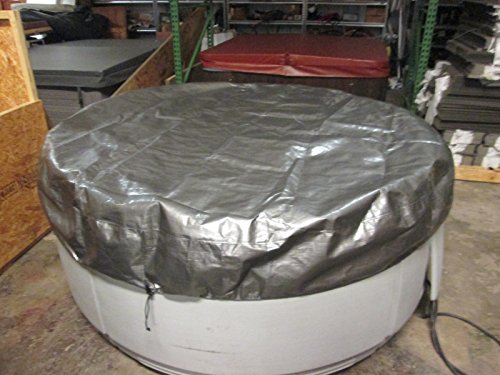 Spa-Hot-Tub-Cover-Cap-SunShield-84-Round-Nordic-Video-How-To-0-0