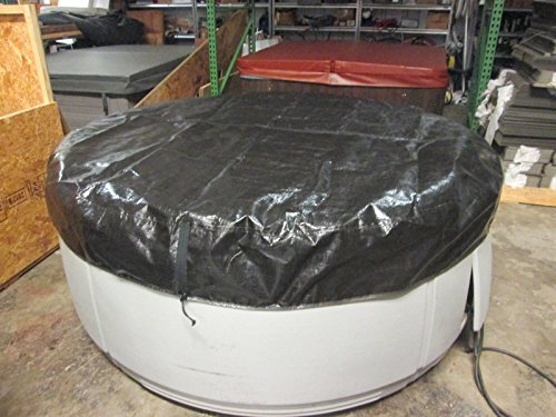 Spa-Hot-Tub-Cover-Cap-SunShield-84-Round-Nordic-Video-How-To-0-1