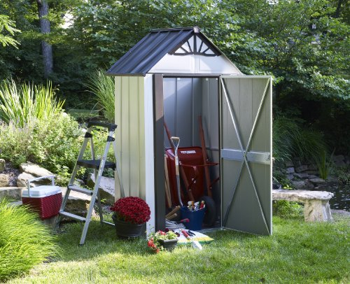 Storboss-SBDSM42-Designer-Series-HDG-Steel-Storage-Shed-4-by-2-Feet-0-0