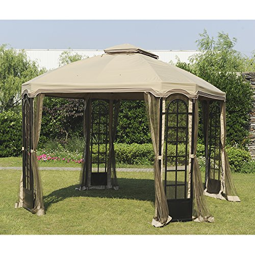 Sunjoy-Replacement-Canopy-Set-for-12x10ft-Terrace-Gazebo-0