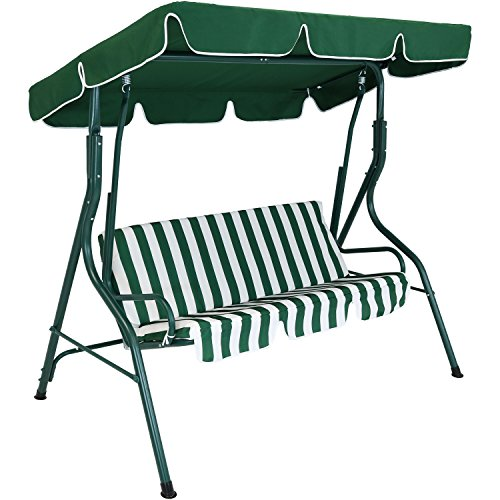 Sunnydaze-Adjustable-Canopy-Patio-Swing-with-Striped-Seat-Cushion-and-Steel-Frame-3-Person-Seater-Multiple-Colors-Available-0-1