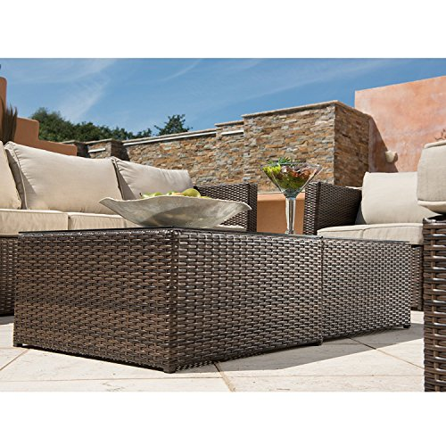 Supernova-Outdoor-Furniture-12-Pieces-Garden-Patio-Sofa-Set-Wicker-Rattan-Sectional-Sofa-No-Assembly-Required-Aluminum-Frame-Brown-0-2