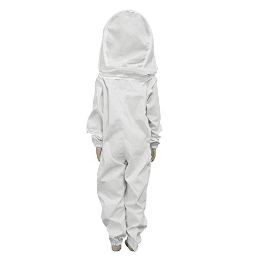 TINTON-LIFE-Kids-Beekeeping-Suits-Full-Body-Ventilated-100-Cotton-Children-Bee-Suits-with-Self-Supporting-Fencing-Veil-Protective-Gear-for-Beekeeper-0-2